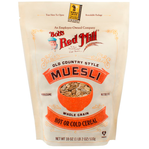 Old Country Style Muesli  4/18oz