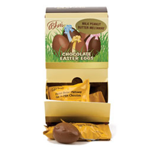 36/1oz Milk Chocolate Peanut Butter Meltaway Egg View Product Image
