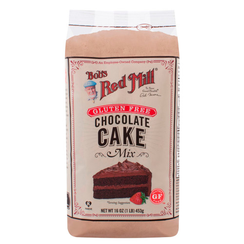 Gluten Free Chocolate Cake Mix 4/16oz