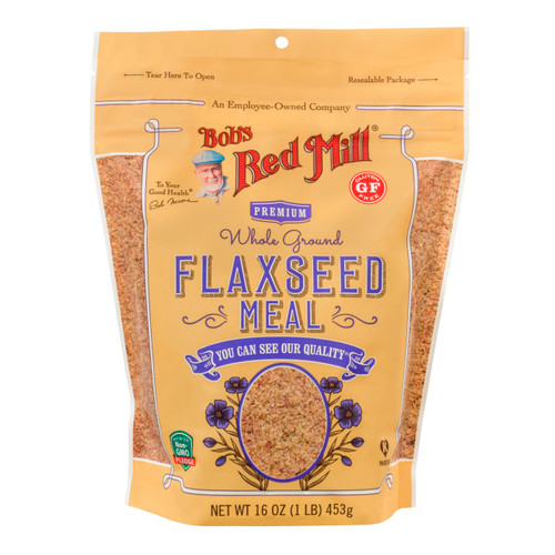 Gluten Free Brown Flaxseed Meal 4/16oz