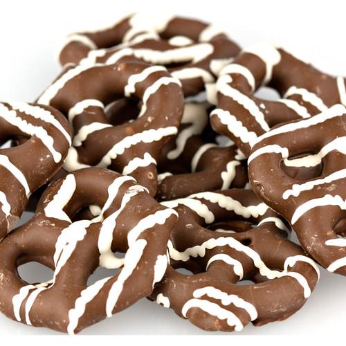 Milk Chocolate Mini Pretzels, No Sugar Added 10lb