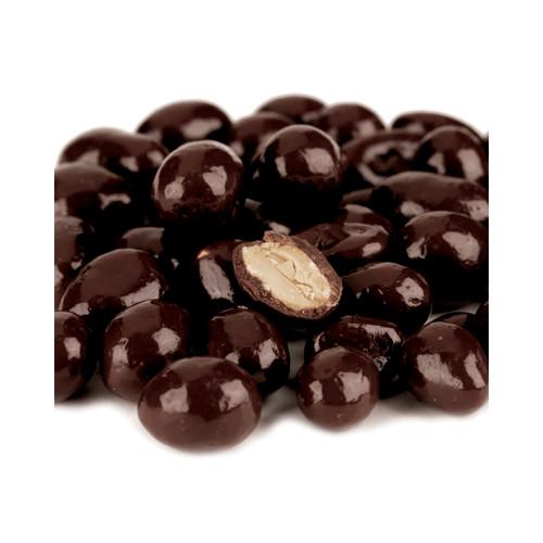 Dark Chocolate Peanuts, No Sugar Added  10lb