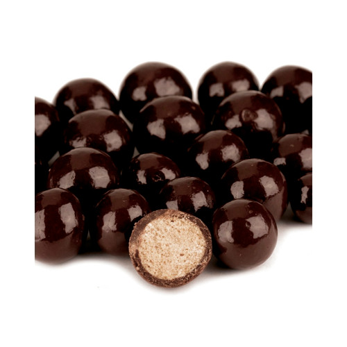 Dark Chocolate Malt Balls, Reduced Sugar 10lb