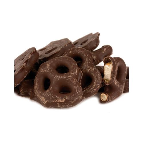Dark Chocolate Mini Pretzels 15lb