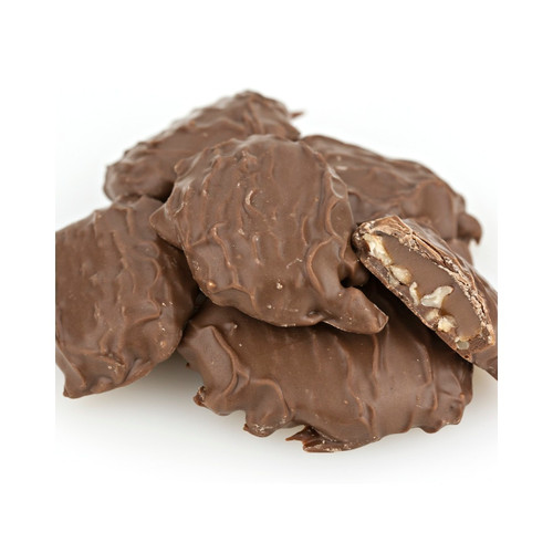 Milk Chocolate Caramel Pecan Patties 5lb View Product Image