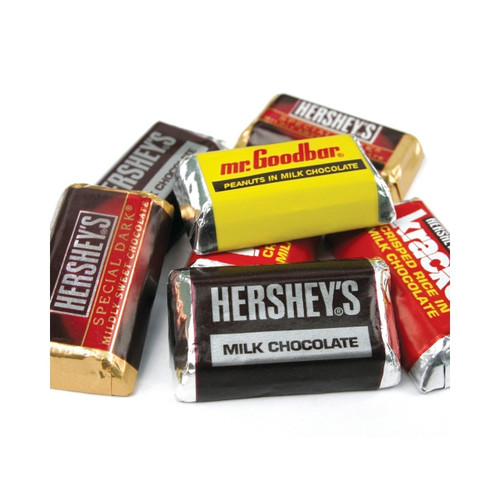 Hershey's Miniature Bars 25lb View Product Image
