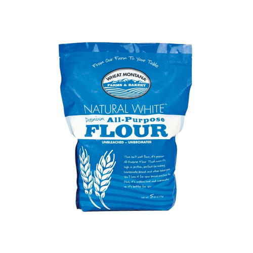8/5lb Natural White Premium Flour