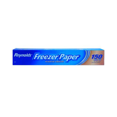 Freezer Paper 18 inch  12/150sq.ft. Per Roll