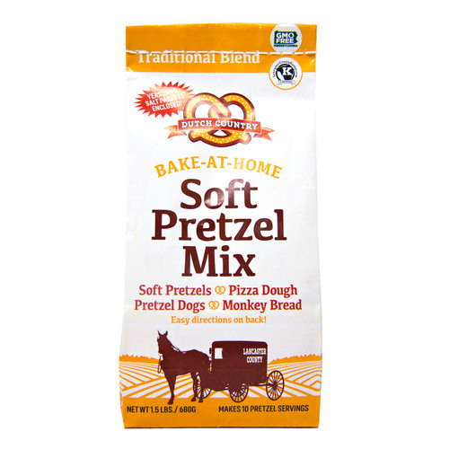 Soft Pretzel Mix 12/1.5lb