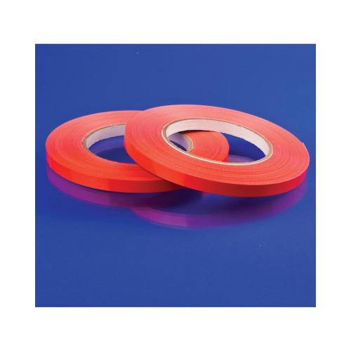 """3/8""""x180 Yds Red Tape/Bag Sealer"""