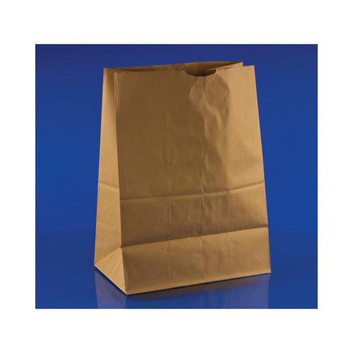 500ct 1/8 Brown Paper Bag 50 lb 10.5x6.5x14