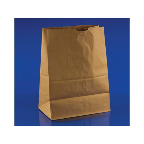 1/8 Brown Paper Bags 50lb, 10.5x6.5x14 500ct