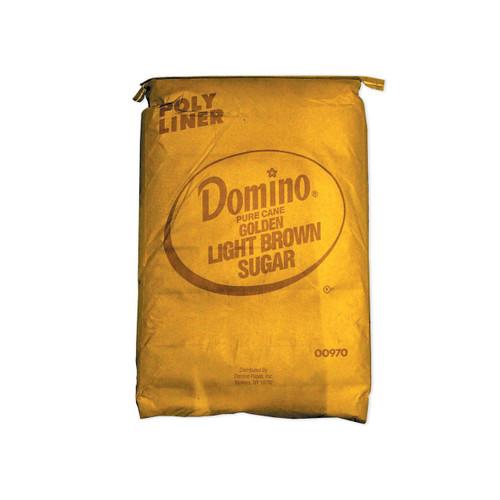 Domino Light Brown Sugar 50lb