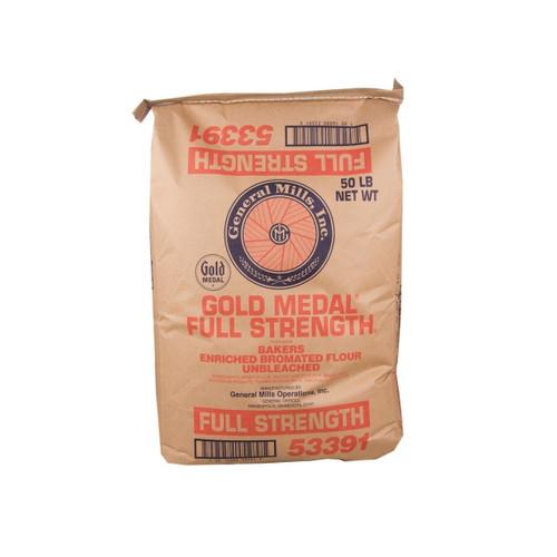 50lb GM Unbl Flour Full Strgth