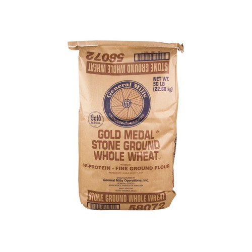 50lb GM Whole Wheat Stone Grnd