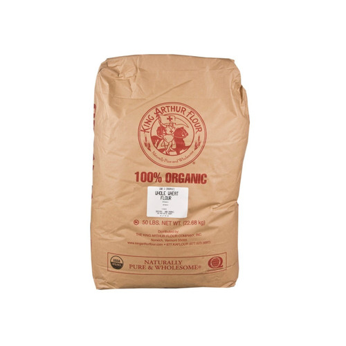 Organic Whole Wheat Flour 50lb