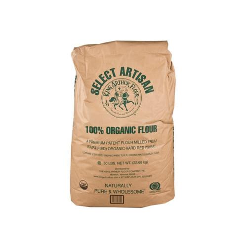 Organic Artisan Select Flour 50lb