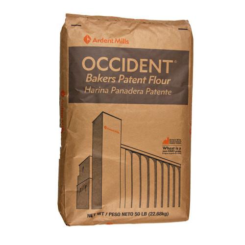 Unbleached Occident Flour 50lb
