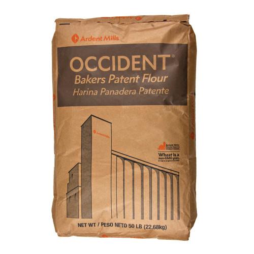 Bleached Occident Flour 50lb