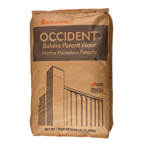 Bleached Occident Flour 50lb