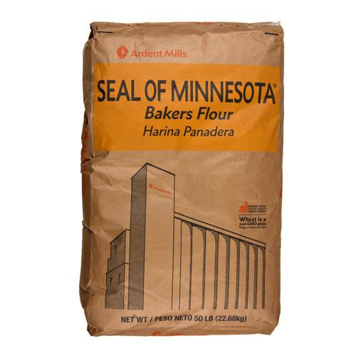 Seal of Minnesota Unbleached Flour 50lb