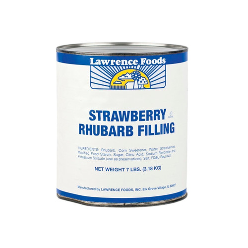 Strawberry Rhubarb Pie Filling 6/10