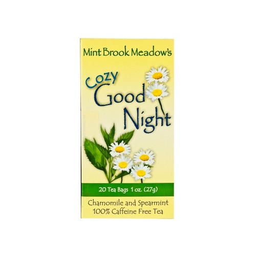 6/20CT Cozy Goodnight Tea