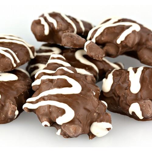 Milk Chocolate Pecan Caramel Patties, No Sugar Added 5lb