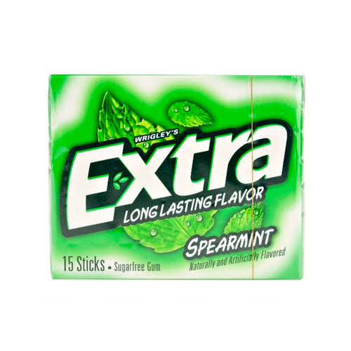 Extra Spearmint Slim Pack 10ct
