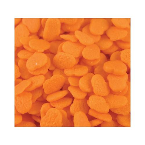Mini Orange Pumpkin Shapes 5lb View Product Image