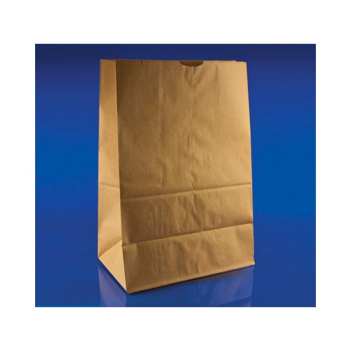1/6 Brown Paper Bags 57lb, 12x7x17 500ct