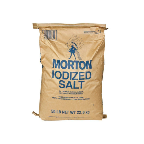 50lb Table Salt Iodized