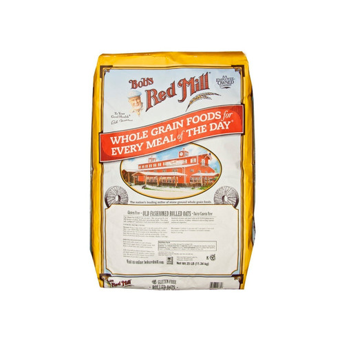 Gluten Free Old Fashioned Rolled Oats 25lb
