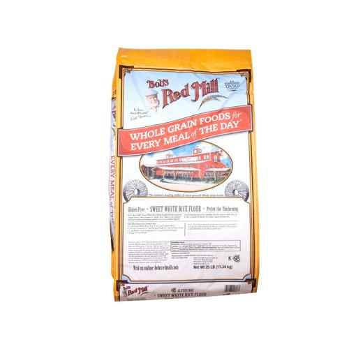 Gluten Free Sweet White Rice Flour 25lb