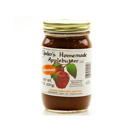 Yoder's Homemade Apple Butter (No Sugar Added) 12/8oz