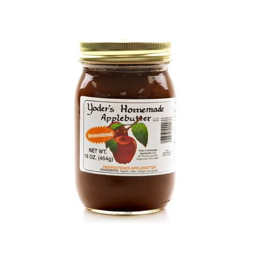 12/16oz Apple Butter Without Sugar