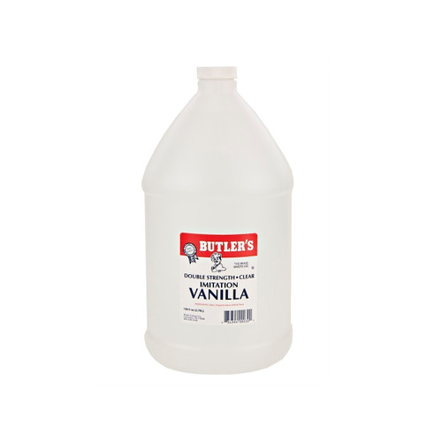 Clear Double Strength Imitation Vanilla 1gal