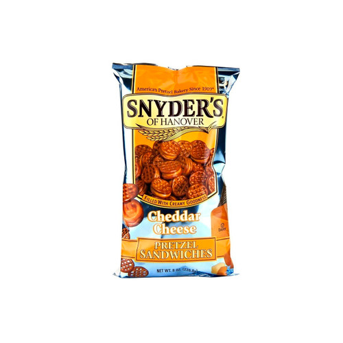 12/8oz Cheddar Cheese Pretzel Sandwich