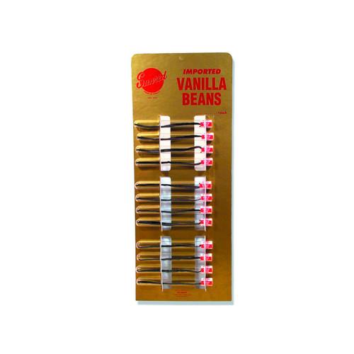 12/2.7grms Vial Vanilla Beans
