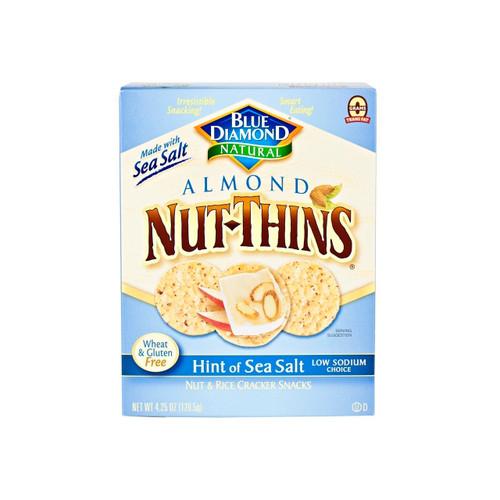 Hint of Sea Salt Nut-Thins 12/4.25oz