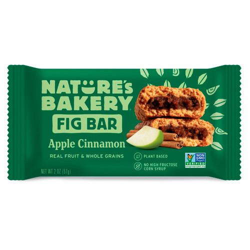 Apple Cinnamon Whole Wheat Fig Bars 12ct