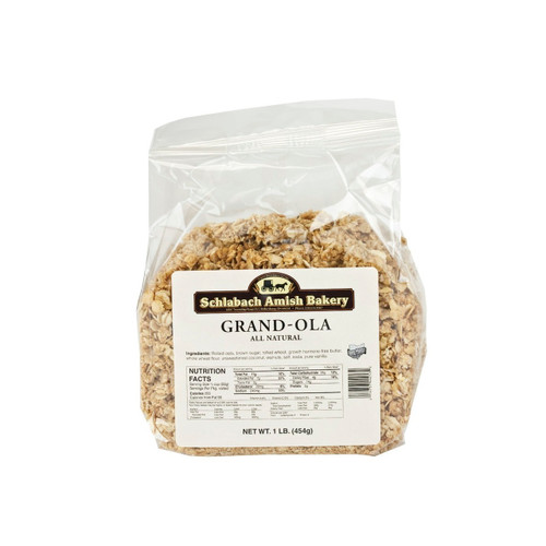 Grand-ola Natural Granola 12/1lb