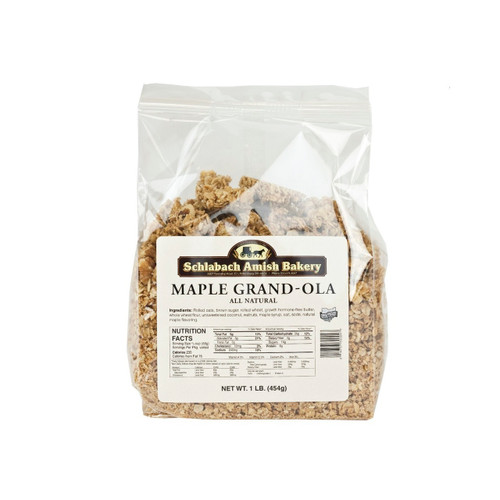Natural Maple Grand-ola Granola 12/1lb