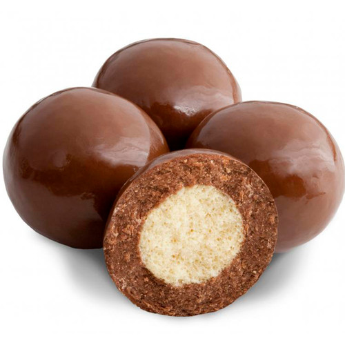 Milk Chocolate Triple Dip Malt Balls 10lb