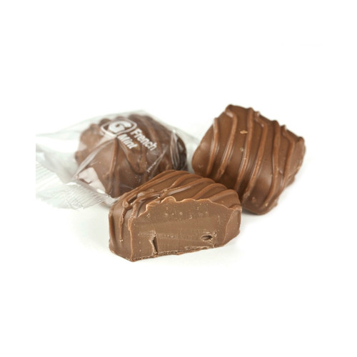 Milk Chocolate French Mints 10lb View Product Image