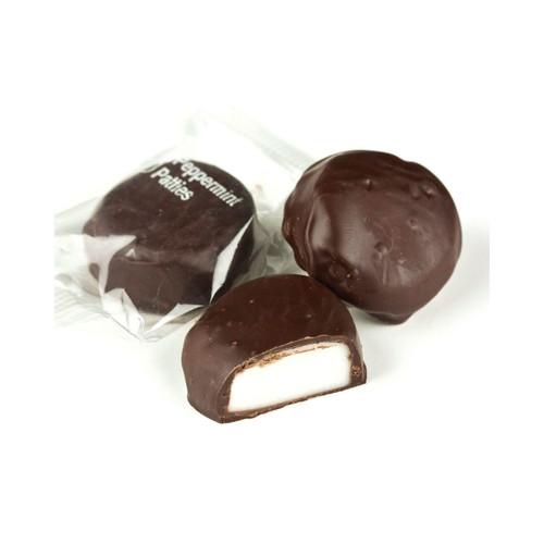 Dark Chocolate Peppermint Patties 10lb
