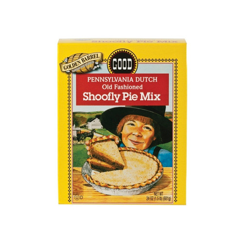Shoofly Pie Mix With Syrup 12/24oz