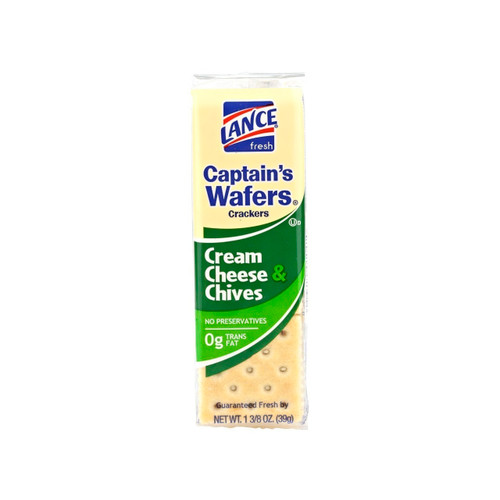 Cream Cheese & Chives Captain's Wafers 120ct