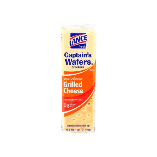 120ct Grilled Cheese On Captains Wafer
