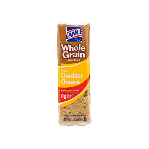 Cheddar Cheese Whole Grain Crackers 120ct